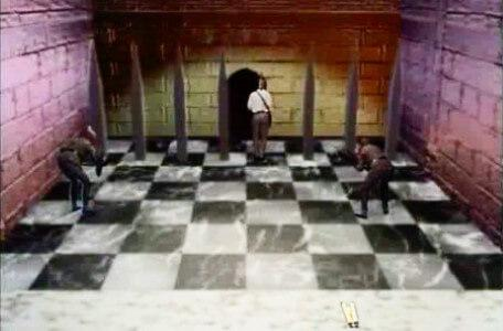 Knightmare Series 7 Team 7. Goblins run in to pressurise Barry at the end of the Trial by Spikes.