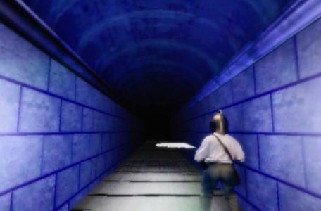 Knightmare Series 7 Team 7. Barry in the Corridor of Blades.