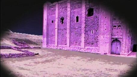The Fortress of Doom, as seen in Series 4 of Knightmare (1990).