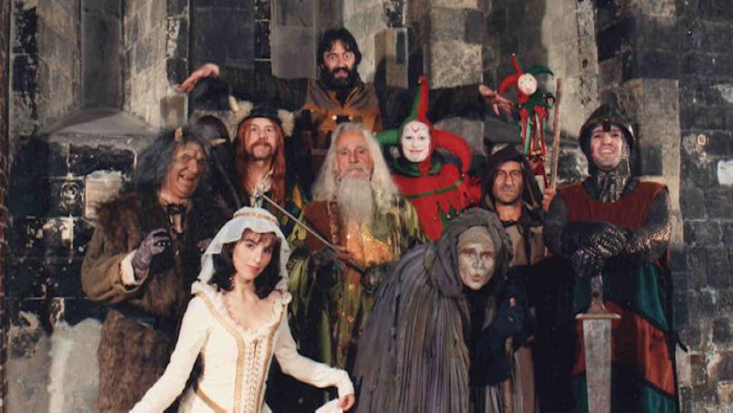The Knightmare cast of Series 2 (1988)