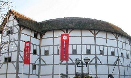 The Globe Theatre in Southwark, London.