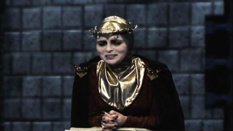Maldame, the 'Iron Maiden', was played by Iona Kennedy in Series 8 of Knightmare (1994).