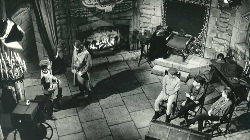 The set of Knightmare at the beginning.