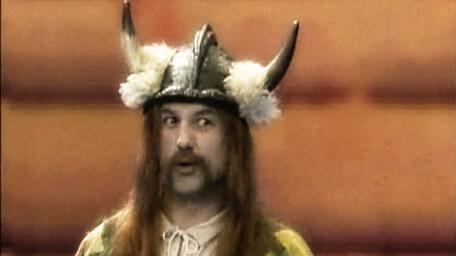 Olaf the Viking, played by Tom Karol in Series 2 of Knightmare (1988).