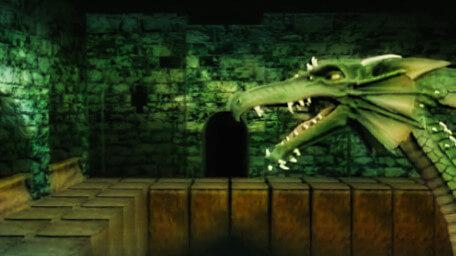 Smirkenorff's Lair, as seen in Series 8 of Knightmare (1994).