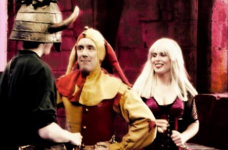 Knightmare Series 6 Team 1. Matt meets Motley the Jester and Sidriss the junior sorceress