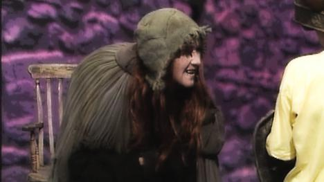 Mistress Goody, the Crone. Played by Erin Geraghty.