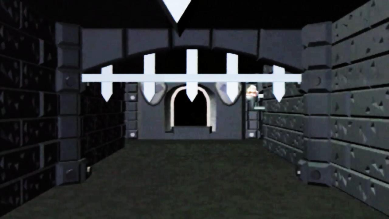 A corridor in the Black Tower of Goth (Series 7-8).