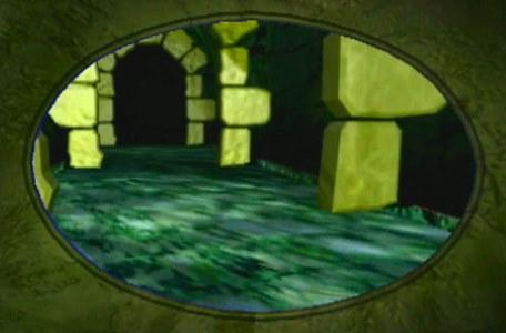 Knightmare Series 8 Team 1. An Eye Shield view of the Snapdragon Tunnels in Level 1.