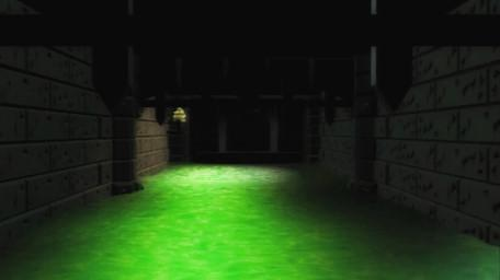 The Sewers of Goth, as seen in Series 7 of Knightmare (1993).
