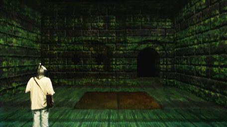 The Level 2 Trapdoor Room, as seen in Series 8 of Knightmare (1994).