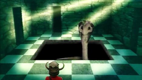 One of the Lairs of Kaa (Level 3) found in Series 3 of Knightmare.