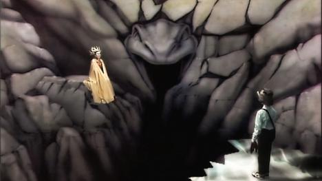 Lillith's Domain in Level 1, as seen in Series 1 and 2 of Knightmare.