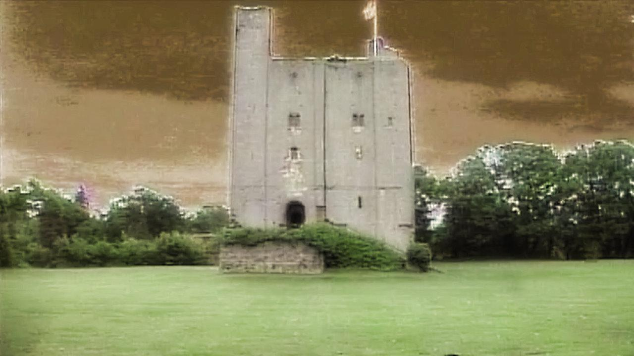 Outside the Gate Tower, as shown in Series 5 (1991).
