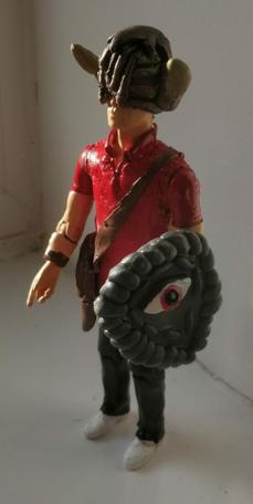 Fan-made action figure of Ben the dungeoneer from Series 6 Team 5, by Mark Harold
