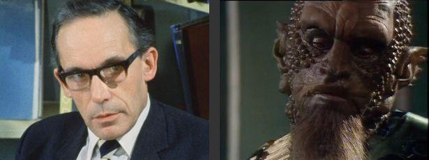 John Woodnutt (Merlin and Mogdred in Knightmare) in Doctor Who.
