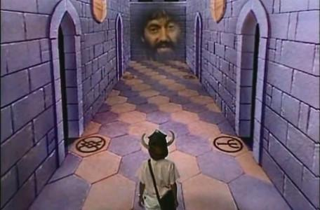 Knightmare Series 1 Team 1. In the Corridor of the Catacombs.