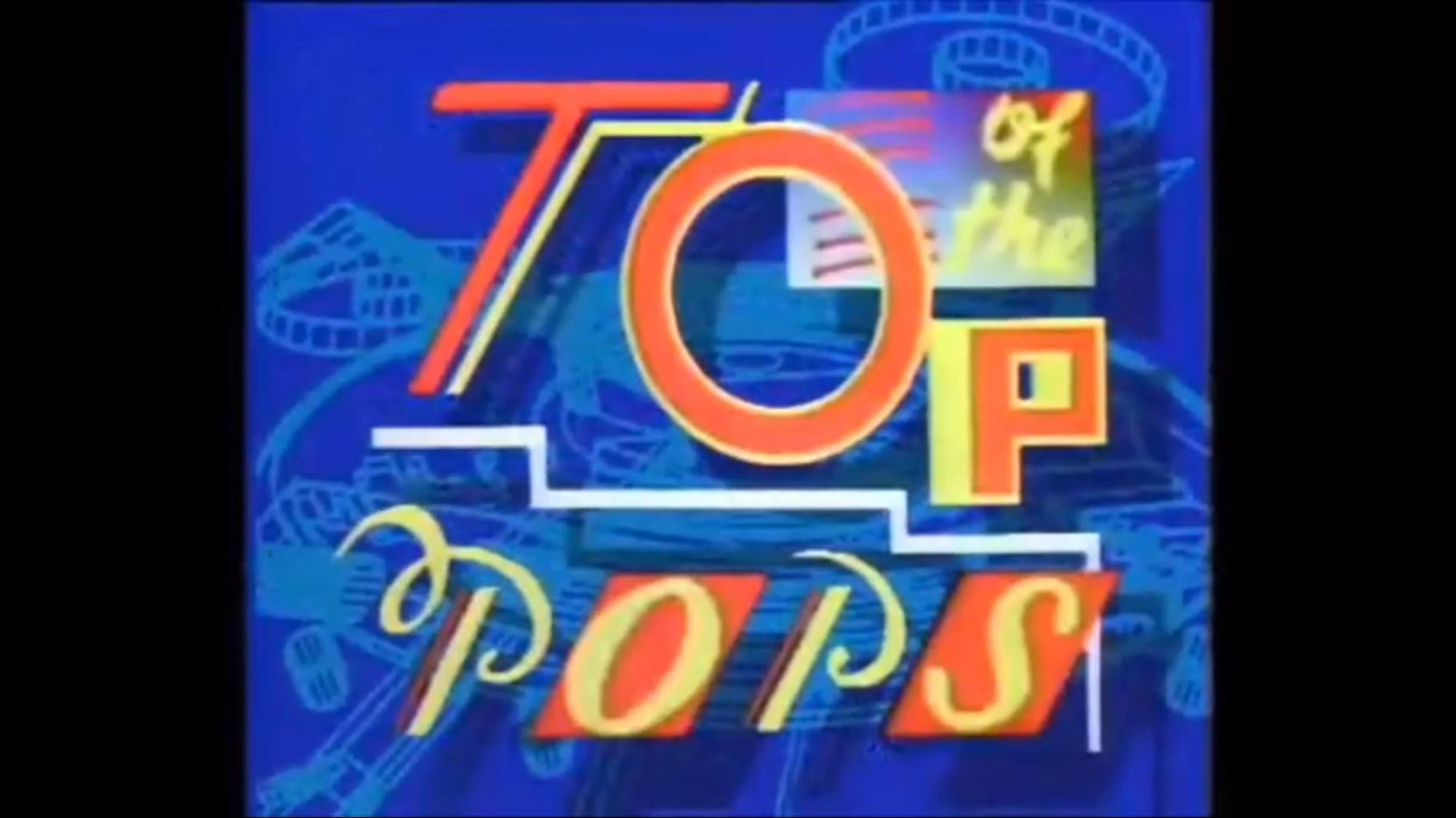 Top Of The Pops (TOTP) 1987 title card