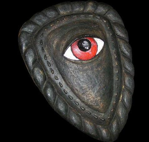The original Eye Shield used in Knightmare.