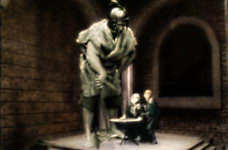 Knightmare Series 7 Team 7. The King of the Trolls stands over Lord Fear and Lissard.