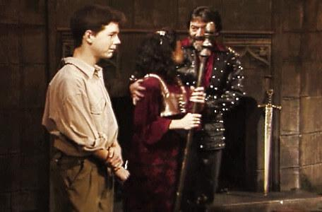 Knightmare Series 7 Team 7. Treguard excuses Majida's doubts at Barry's arrival.