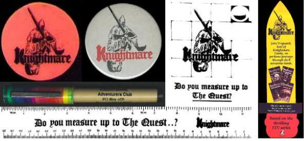 Merchandise pack for members of the Knightmare Adventurer's Club.