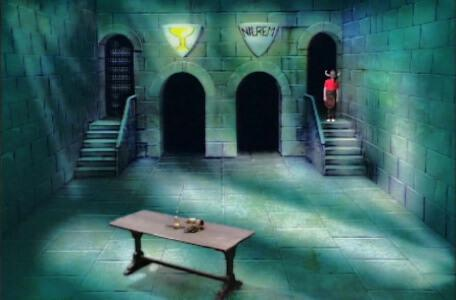 Knightmare Series 1 Team 6. Richard reaches the Level 3 clue room.
