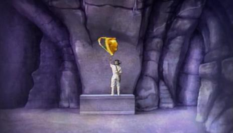 Series 3 Quest 11 - Level 2 - Martin collects piece of chalice in cavern