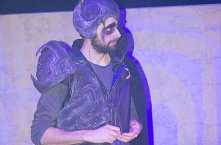 Lord Fear in Knightmare Live, 2016.