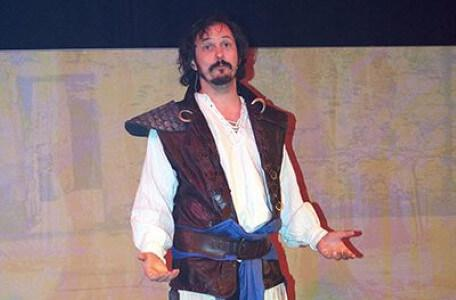 Treguard in Knightmare Live, 2016.