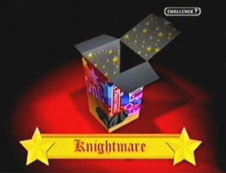 Challenge TV Documentary (2002). Knightmare is selected from the box of cult favourite shows.