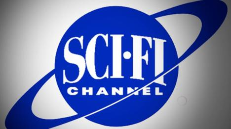 Banner of the Sci-Fi Channel (now Syfy), with custom colouring.