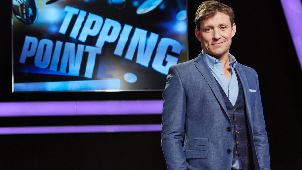 Advertorial image of Ben Shephard for Tipping Point.
