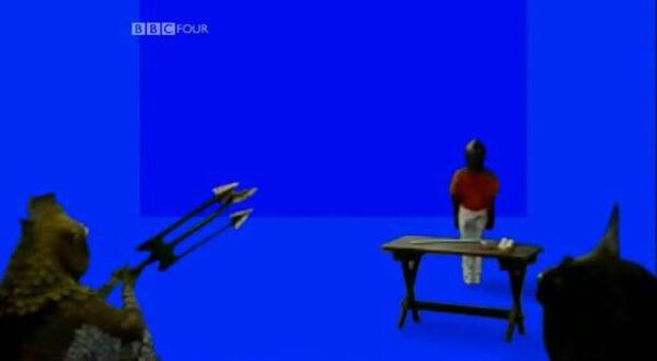 Children's TV on Trial (2007). A Series 8 room shown without effects.