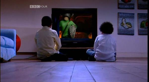 Children's TV on Trial (2007). Children watch the Knightmare Series 6-8 titles.