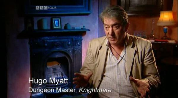 Children's TV on Trial (2007). Hugo Myatt (Treguard) discusses Knightmare.