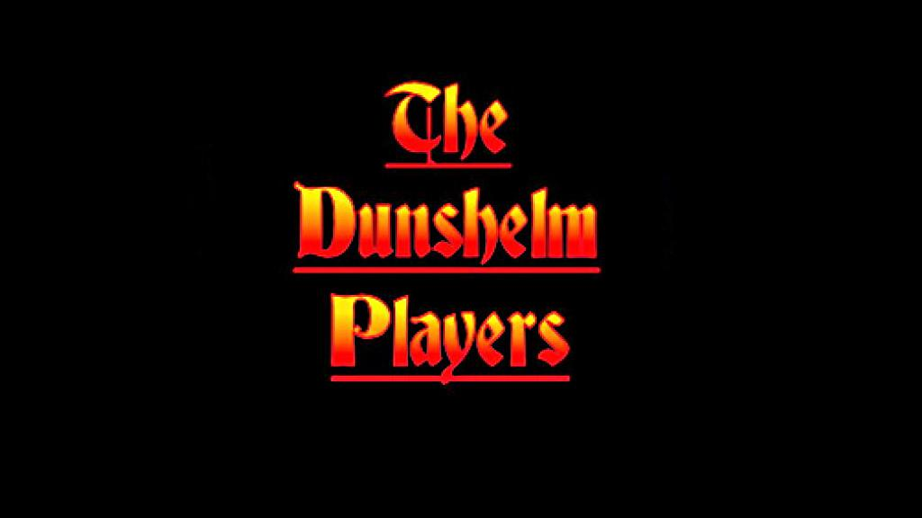 Logo of the Dunshelm Players audio drama group.