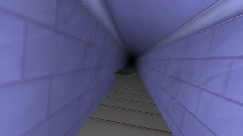 Preview of an Oculus Rift view of the Corridor of Blades