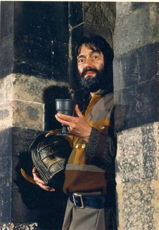 Full 1987 publicity shot of Treguard (Hugo Myatt).