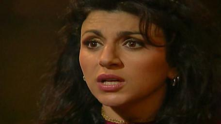 Majida the Genie, played by Jackie Sawiris in Series 7 of Knightmare (1993).