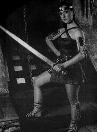 Image of Stiletta in The Quest, the Official Knightmare newsletter. Volume 4, Issue 1.