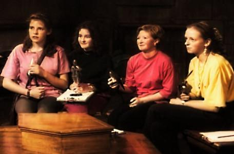 Knightmare Series 7 Team 6. The team appreciate their frightknight trophies.