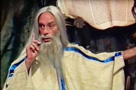 The druid (Ismael Abellán) from the third series of El Rescate del Talisman.