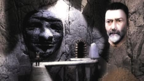 Treguard appears to the dungeoneer in Knightmare VR (2003).