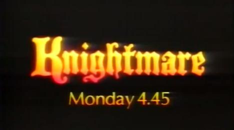 TV trailer for Knightmare before Series 1