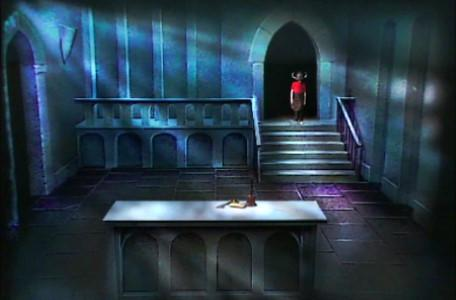 Knightmare Series 1 Team 6. Richard reaches the Level 2 clue room.