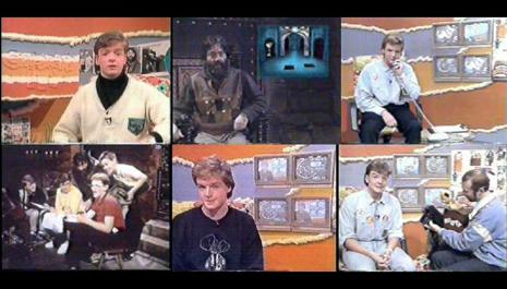 Children's ITV 1988 - Mark Granger collage