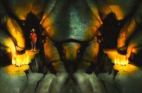 Knightmare Series 2 Team 12. Steven reaches the Scarab Room in Level 1.
