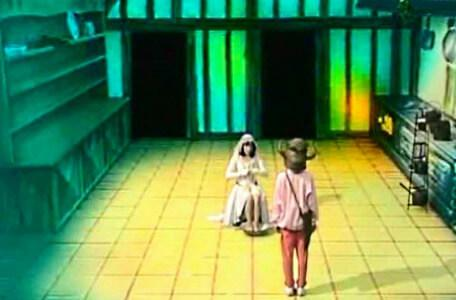 Knightmare Series 2 Team 13. Karen finds Gretel the Maid in the kitchen.