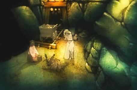 Knightmare Series 2 Team 13. Karen lands in the mine and causes an explosion.